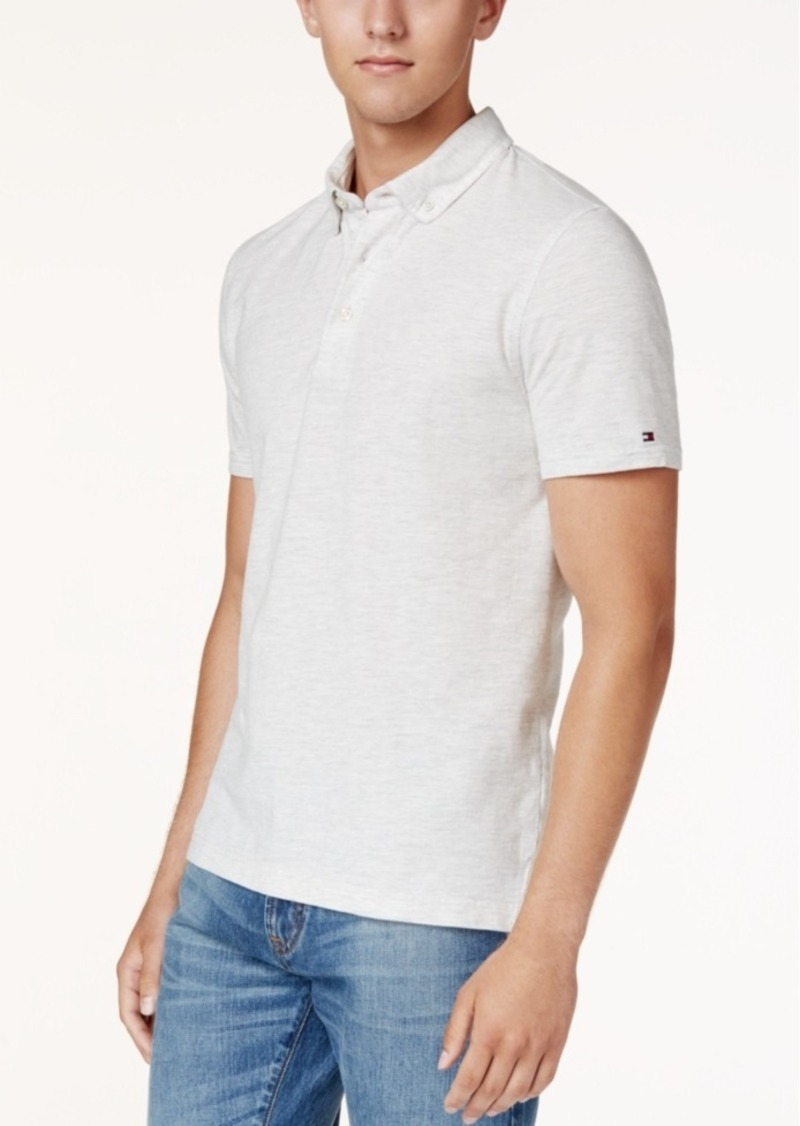 Tommy Hilfiger Tommy Hilfiger Mens Byron Pique Polo Casual Shirts
