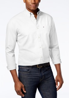 Tommy Hilfiger Men's Capote Classic-Fit Stretch Solid Shirt