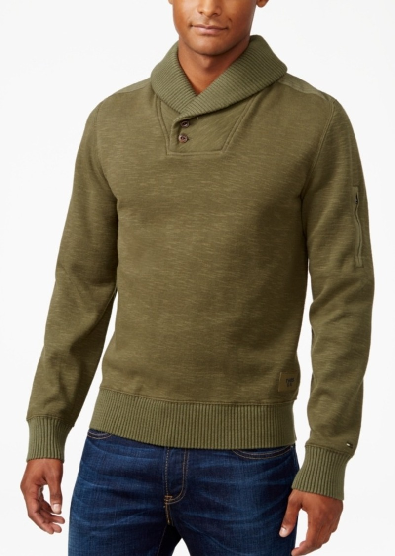 Tommy Hilfiger Men's Carlton Shawl-Collar Sweater