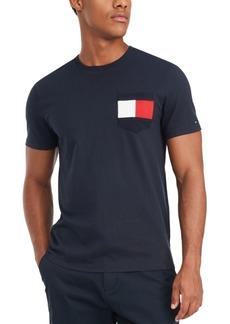 Tommy Hilfiger Men's Casey Logo Pocket T-Shirt