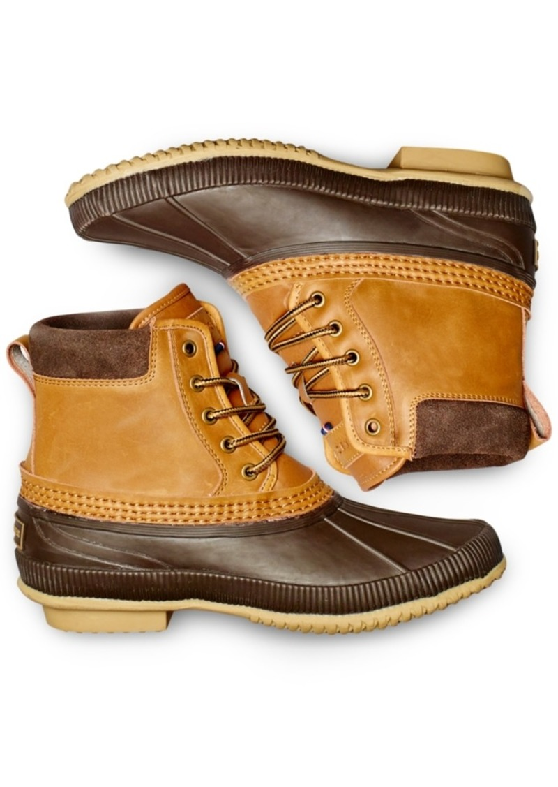 a5121e6beccce8 Tommy Hilfiger Men s Casey Waterproof Duck Boots Created for Macy s Men s  Shoes