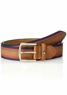 Tommy Hilfiger Men's Casual Belt tan line Design
