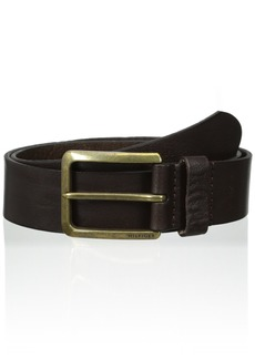 Tommy Hilfiger Men's Casual Belt With Brass-finish Buckle