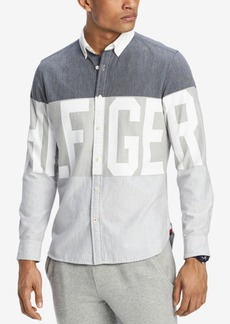 Tommy Hilfiger Men's Chadwick Custom Fit Shirt, Created for Macy's