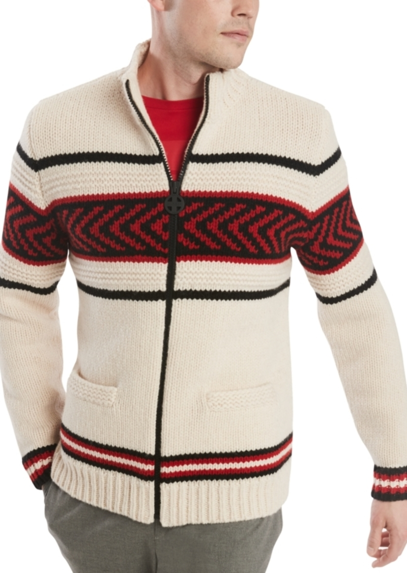 Tommy Hilfiger Men's Chalet Full-Zip Sweater