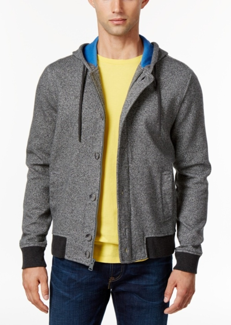 Tommy Hilfiger Men's Charlie Double-Knit Jacquard Hoodie