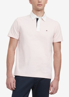 Tommy Hilfiger Men's Classic-Fit Ed Rugby Polo