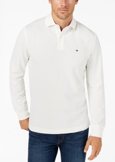 Tommy Hilfiger Men's Classic Fit Long Sleeve Polo Shirt, Created for Macy's