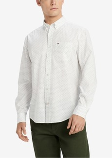 Tommy Hilfiger Men's Classic Fit Star Print Shirt, Created for Macy's