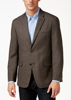 Tommy Hilfiger Men's Classic-Fit Textured Brown Sport Coat