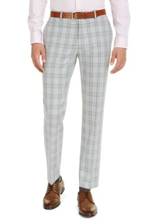 Tommy Hilfiger Men's Classic-Fit Th Flex Stretch Plaid Dress Pants