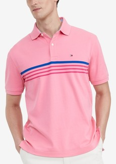 Tommy Hilfiger Men's Classic-Fit Th Luxe Roxbury Stripe Polo Shirt