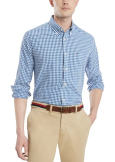 Tommy Hilfiger Men's Classic Fit Twain Check Shirt, Created for Macy's