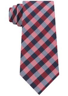 Tommy Hilfiger Men's Classic Ground Plaid Silk Tie
