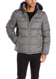Tommy Hilfiger Men's Classic Hooded Puffer Jacket  M