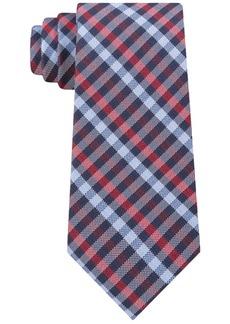 Tommy Hilfiger Men's Classic Plaid Silk Tie