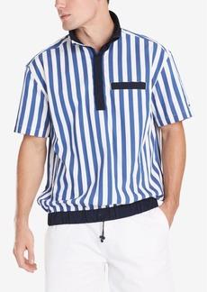 Tommy Hilfiger Men's Cole Regular-Fit Colorblocked Stripe Popover Shirt