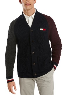 Tommy Hilfiger Men's Coleman Colorblock Cardigan Sweater