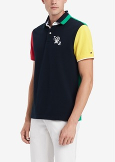 Tommy Hilfiger Men's Colorblocked Graphic Polo, Created for Macy's
