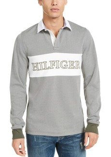 Tommy Hilfiger Men's Colorblocked Long-Sleeve Polo
