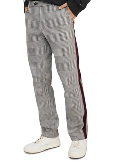 Tommy Hilfiger Men's Comfort-Fit Brandon Check Trousers