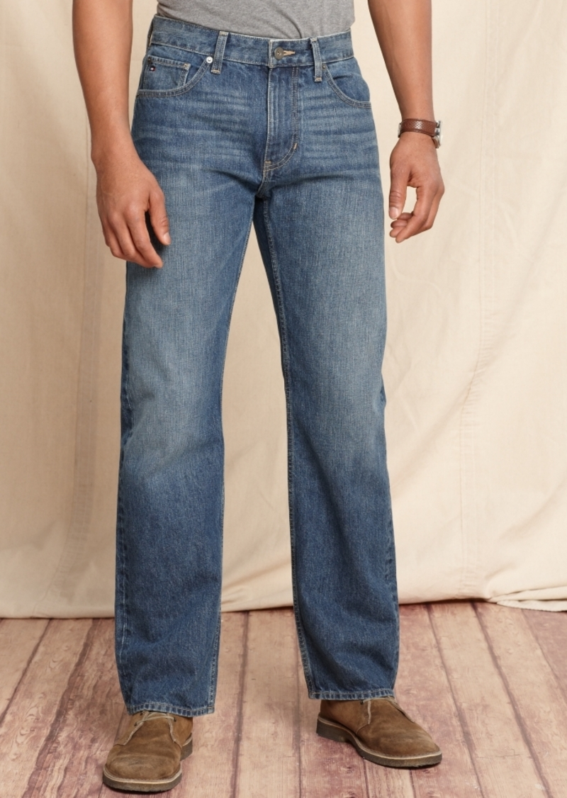 2aebbe6c Men's Core Jeans, Created for Macy's, Varsity Freedom Relaxed Fit Jeans,  Created for Macy's. Tommy Hilfiger