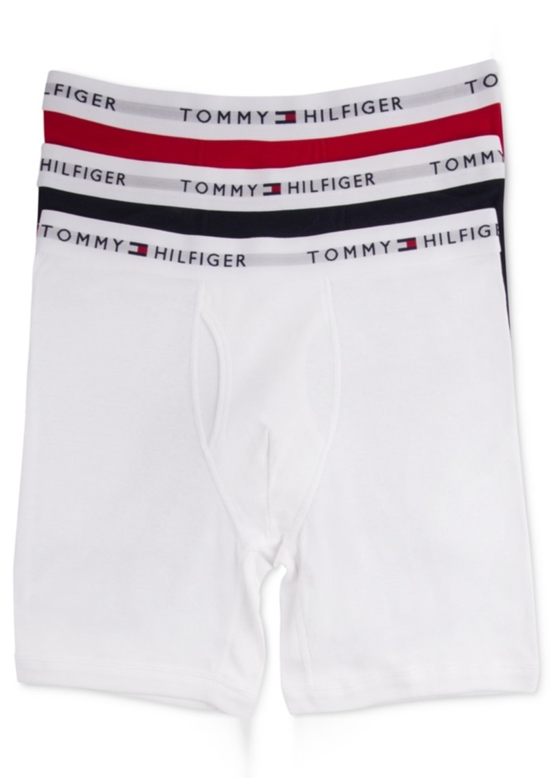 aa98fc9f Tommy Hilfiger Tommy Hilfiger Men's Cotton Boxer Brief 3-Pack Now $22.99