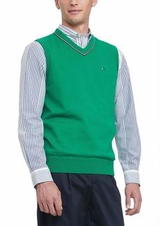 Tommy Hilfiger Men's Cotton Sweater Vest  XL