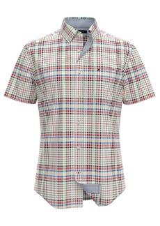 Tommy Hilfiger Men's Crosbie Custom-Fit Plaid Shirt