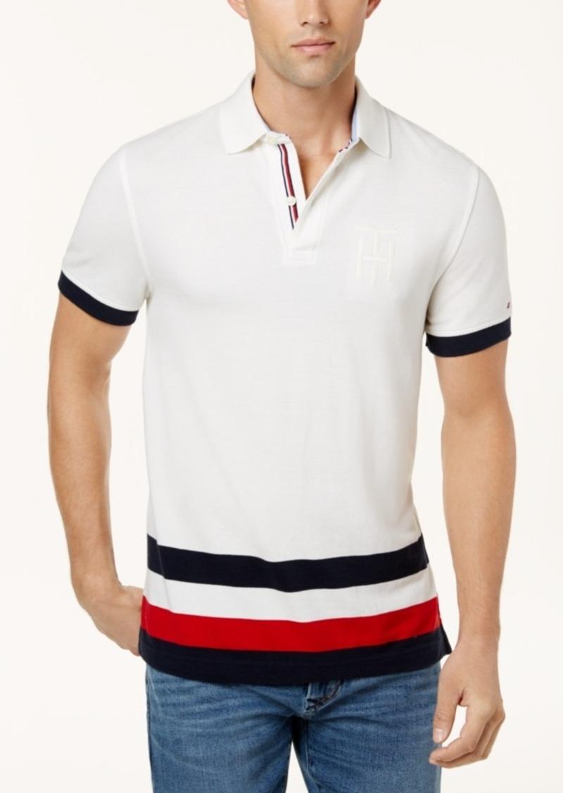 d97600335c9 Tommy Hilfiger Tommy Hilfiger Men's Custom-Fit Byron Striped Polo