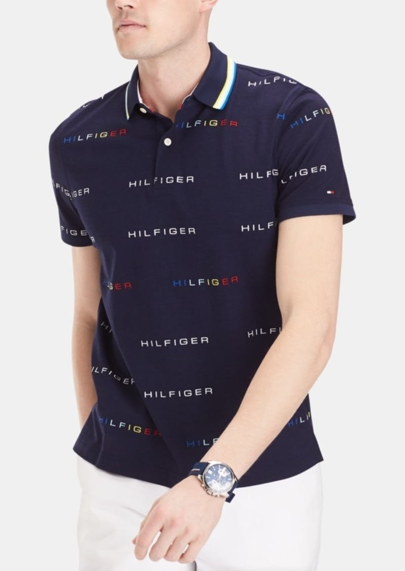 Tommy Hilfiger Men's Custom Fit Cedric Polo