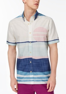 Tommy Hilfiger Men's Custom Fit Desert Sunset Shirt, Created for Macy's