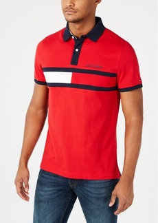 Tommy Hilfiger Men's Custom Fit Holly Polo, Created for Macy's