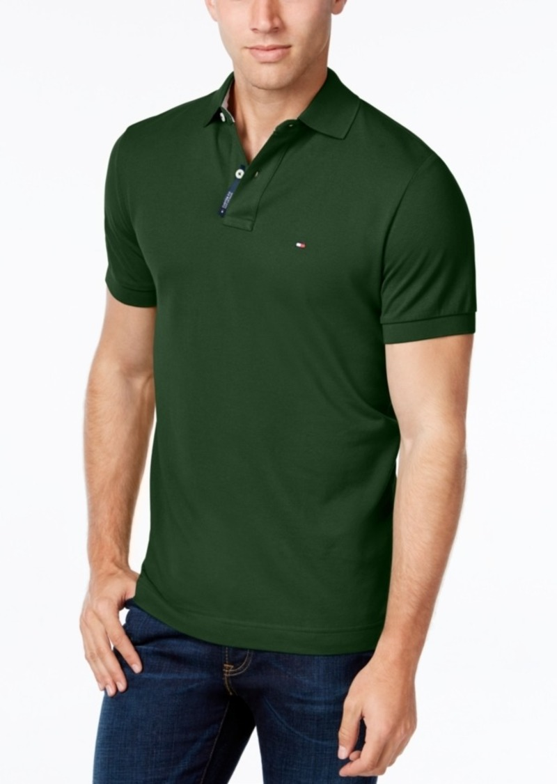 bb51553d SALE! Tommy Hilfiger Tommy Hilfiger Men's Custom-Fit Ivy Polo