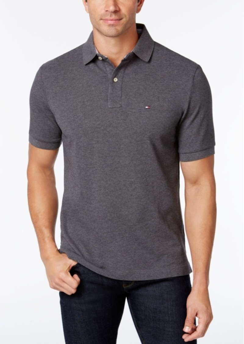 7da36ab2 Tommy Hilfiger Tommy Hilfiger Men's Custom Fit Ivy Polo, Created for ...