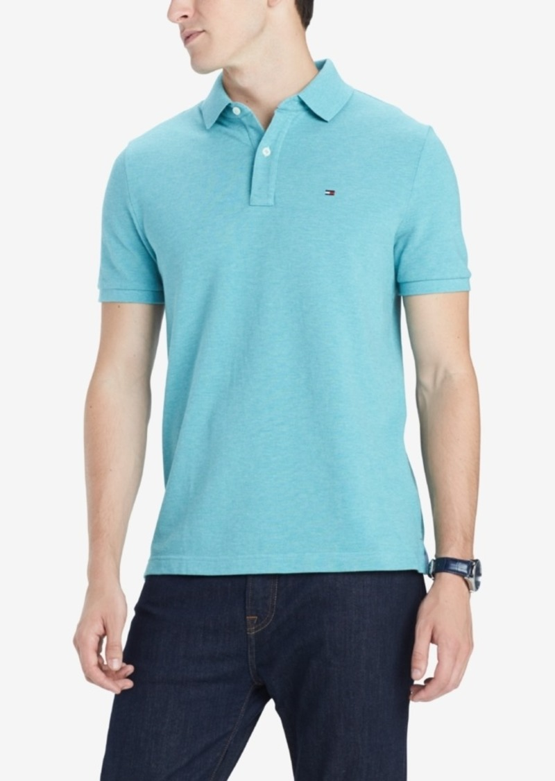 Tommy Hilfiger Men's Ivy Custom Fit Polo, Created for Macy's