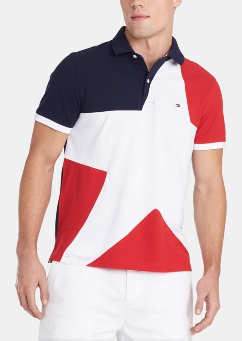 Tommy Hilfiger Men's Custom Fit Larkin Polo