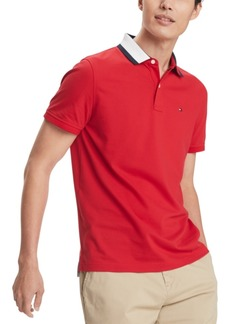 Tommy Hilfiger Men's Custom-Fit Signature Polo