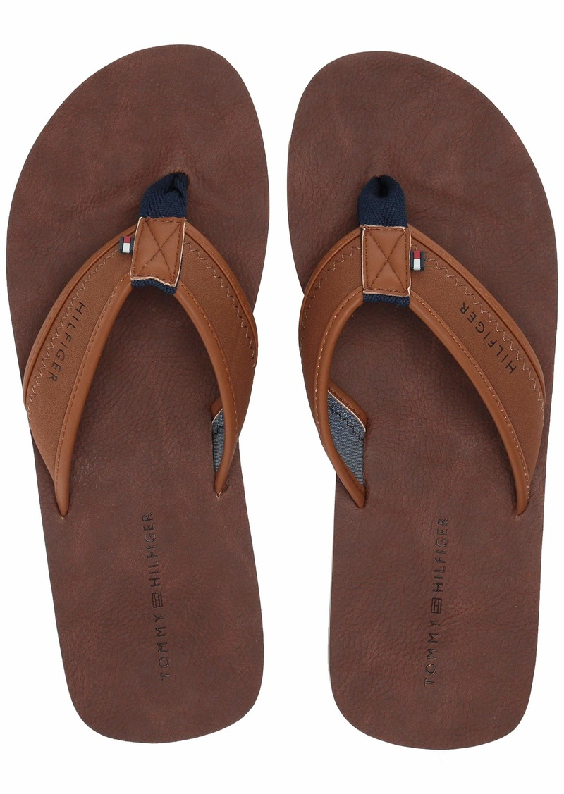 Tommy Hilfiger Men's Deli Flip-Flop   Medium US