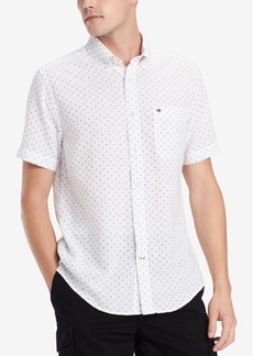 Tommy Hilfiger Men's Diamond Dot Shirt, Created for Macy's