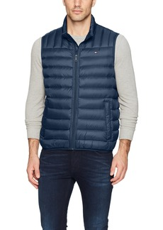 Tommy Hilfiger Men's Down Quilted Puffer Vest new navy