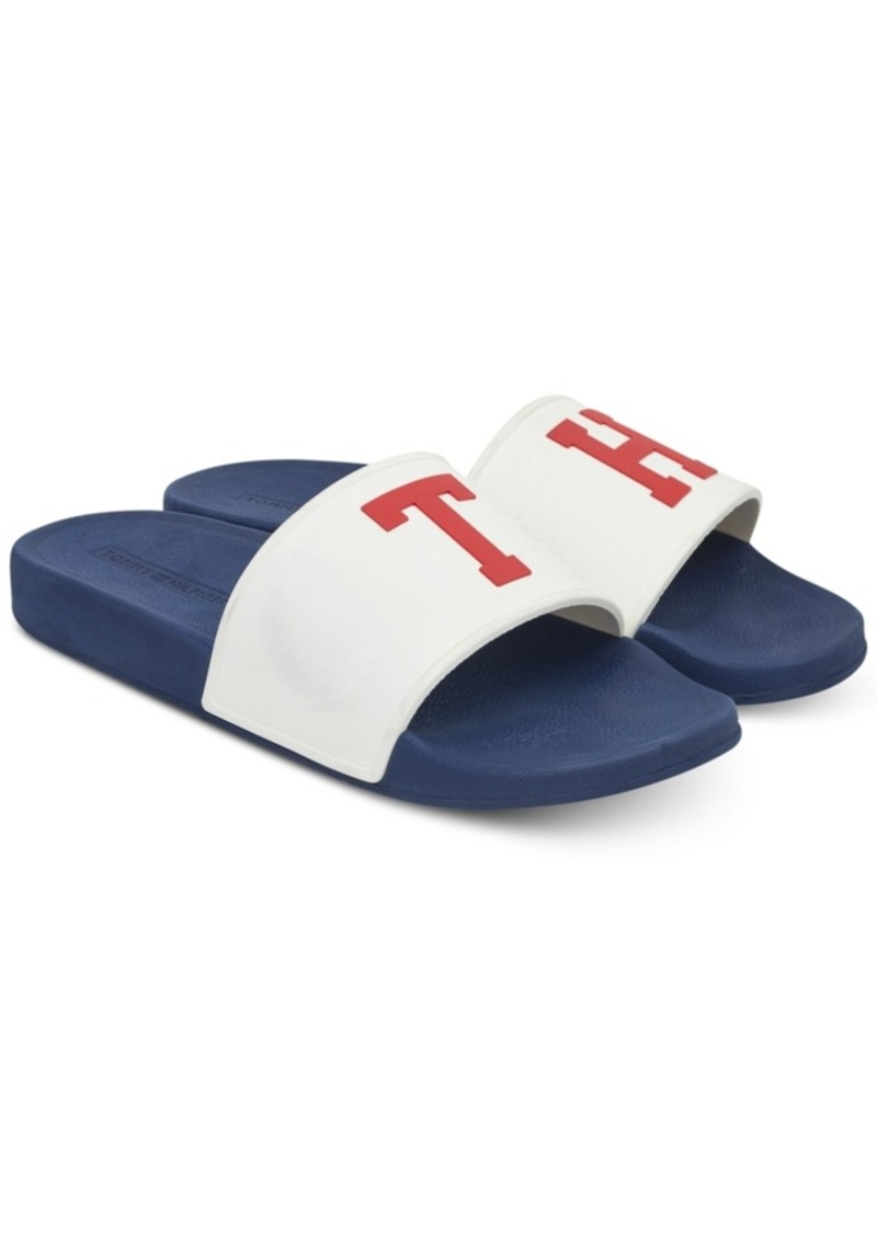 271f58ebc90dc Tommy Hilfiger Tommy Hilfiger Men s Essex Slide Sandals Men s Shoes ...
