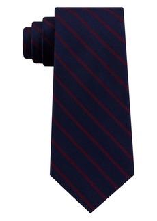 Tommy Hilfiger Men's Exotic Stripe Silk Tie