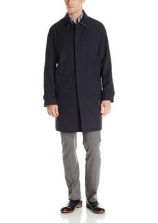 Tommy Hilfiger Men's Farel Fly Front Overcoat  42 Regular