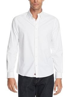 Tommy Hilfiger Men's No-Tuck Casual Slim Fit Stretch Dress Shirt