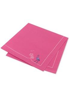 Tommy Hilfiger Men's Flamingo Pride Silk Pocket Square