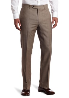 Tommy Hilfiger Mens Flat Front Trim Fit 100% Wool Suit Separate Pant