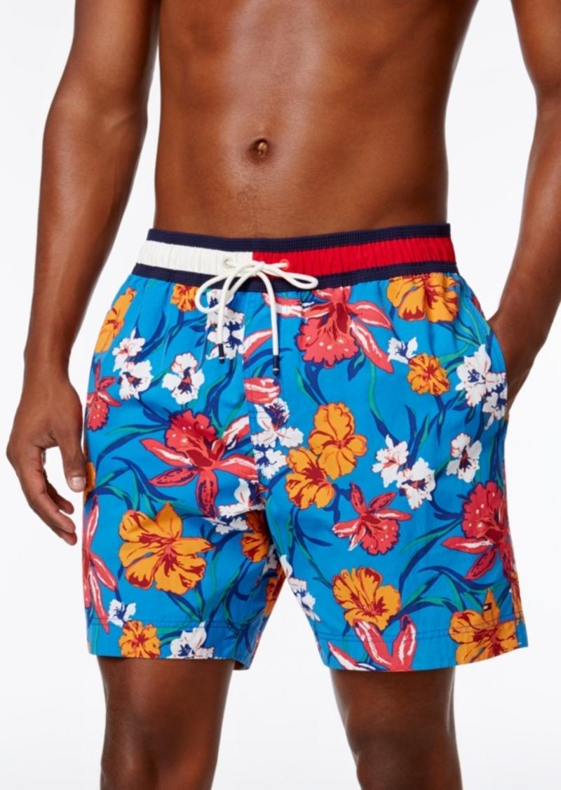 41eed42759 SALE! Tommy Hilfiger Tommy Hilfiger Men's Floral Swim Trunks
