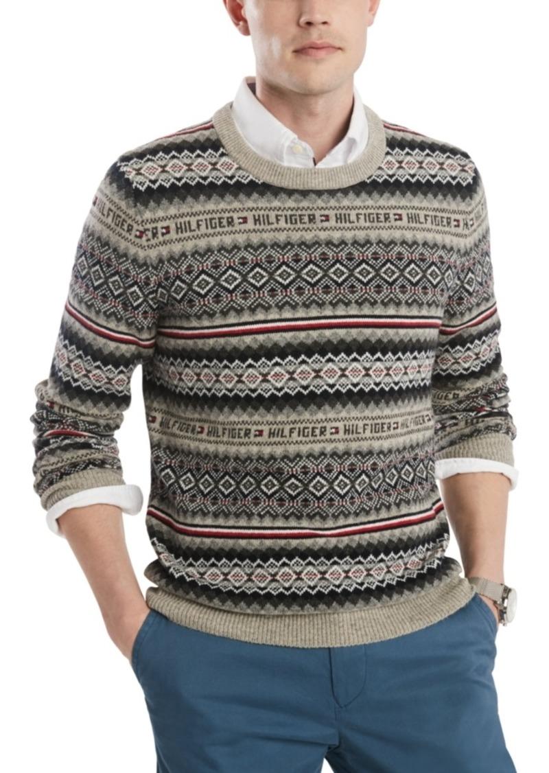 Tommy Hilfiger Men's Flynn Fair Isle Sweater