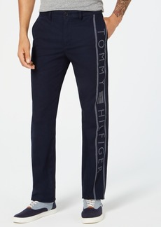 Tommy Hilfiger Men's Flynn Logo Chinos, Created for Macy's